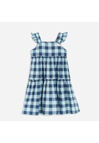 Reserved - Sukienka na ramiączkach - Fioletowy. Kolor: fioletowy. Długość rękawa: na ramiączkach