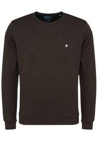 Pierre Cardin Bluza Sweat 54610/000/2418 Czarny Modern Fit. Kolor: czarny