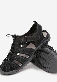 Born2be - Czarne Sandały Siera. Kolor: czarny