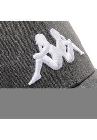 Szara czapka z daszkiem Kappa