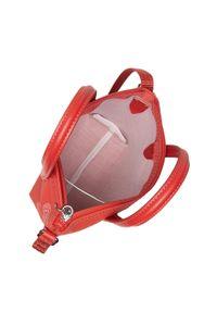 Lacoste - Torebka LACOSTE - Xs Shopping Crossover Bag NF3518CX Lima/Black. Kolor: czerwony. Materiał: skórzane. Styl: elegancki, klasyczny, casual