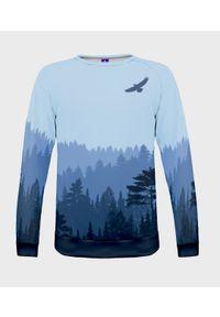 MegaKoszulki - Bluza męska fullprint Wolny ptak. Długość: długie. Styl: klasyczny