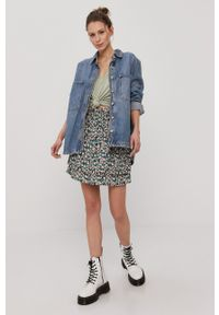 Vero Moda - Spódnica. Materiał: tkanina
