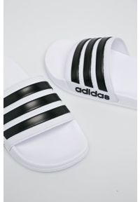 Adidas - adidas - Klapki Adilette Shower. Kolor: biały