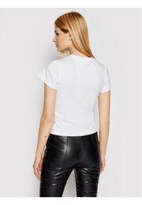 Biały t-shirt Victoria Victoria Beckham