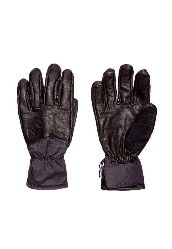 Czarna rękawiczka sportowa Black Diamond narciarska, na zimę