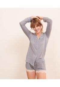 Warm Day Koszula Od Piżamy - M - Morski - Etam. Kolor: morski