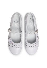 Białe buty komunijne Zarro klasyczne, na komunię