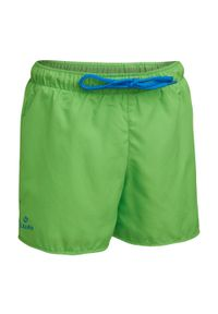OLAIAN - Spodenki Surfing Bs 50 Jasmine Dla Dzieci. Kolor: zielony. Materiał: materiał, poliester. Długość: krótkie