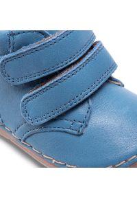 Niebieskie półbuty Froddo z cholewką