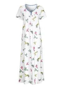Cellbes Długa koszula nocna we wzory female ze wzorem 54/56. Długość: długie. Wzór: kwiaty