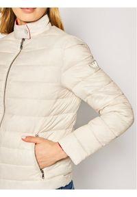Biała kurtka puchowa Emporio Armani