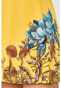 Żółta sukienka Desigual casualowa, na co dzień, w kwiaty #5