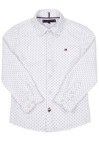 Biała koszula TOMMY HILFIGER z nadrukiem