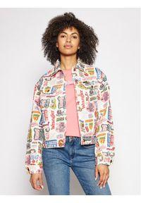 Kurtka jeansowa Wrangler w kolorowe wzory