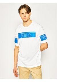 Fila T-Shirt Lani 683085 Biały Regular Fit. Kolor: biały