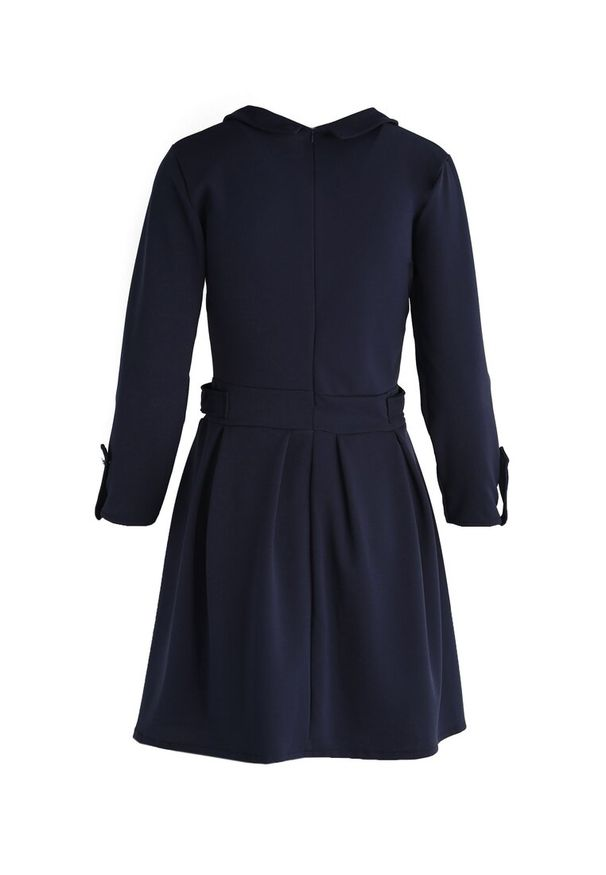 Niebieska sukienka mini Renee