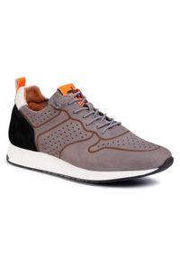Togoshi Sneakersy TG-22-04-000215 Szary. Kolor: szary