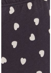 United Colors of Benetton - Spodnie piżamowe. Kolor: szary. Materiał: bawełna