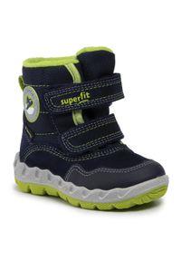 Niebieskie buty zimowe Superfit
