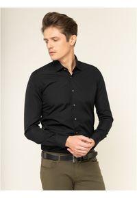 Czarna koszula biznesowa Emanuel Berg