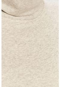 Szara bluza GAP z golfem, gładkie