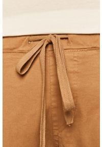 Beżowe spodnie materiałowe medicine boho #4