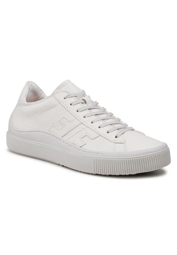 Fly London - Sneakersy FLY LONDON - Somafly P601455001 Off White. Okazja: na co dzień. Kolor: biały. Materiał: skóra ekologiczna, materiał. Styl: klasyczny, sportowy, casual