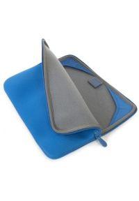 Niebieskie etui na laptopa TUCANO w kolorowe wzory, eleganckie