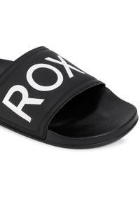 Czarne klapki na basen Roxy