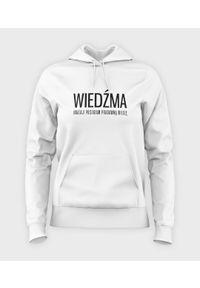 MegaKoszulki - Bluza damska z kapturem Wiedźma. Typ kołnierza: kaptur