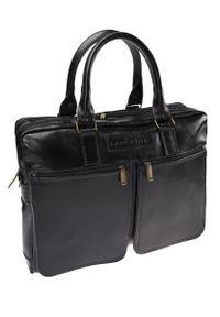 Czarna torba Lancerto