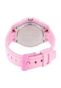 Różowy zegarek Casio