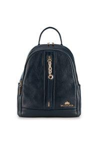Niebieski plecak Wittchen