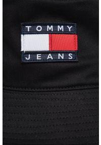 Tommy Jeans - Kapelusz. Kolor: czarny. Materiał: bawełna
