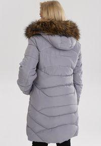 Szara kurtka zimowa Born2be