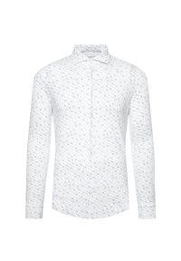 Biała koszula casual Baldessarini