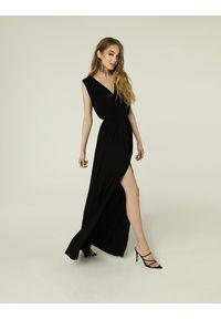 Madnezz - Sukienka Greta - czerń. Materiał: wiskoza, dzianina, elastan