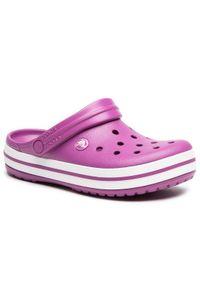 Crocs Klapki Crocband 11016 Fioletowy. Kolor: fioletowy
