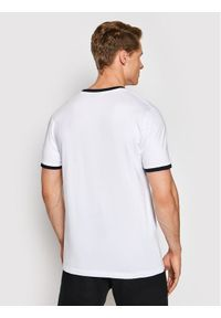 Ellesse T-Shirt Meduno SHI10164 Biały Regular Fit. Kolor: biały
