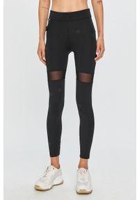 Czarne legginsy Desigual Sport