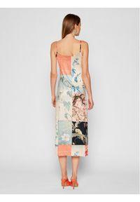 Desigual Sukienka letnia Matsue 21WWVK63 Kolorowy Slim Fit. Wzór: kolorowy. Sezon: lato