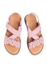 Różowe sandały Froddo z aplikacjami #6