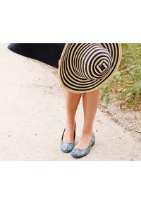 Baleriny Zapato w kolorowe wzory, wąskie