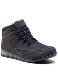 Niebieskie buty zimowe Lasocki For Men