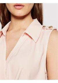 Różowa bluzka body Marciano Guess