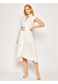 Biała sukienka Marella prosta, na co dzień, casualowa