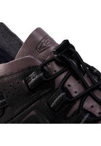 Czarne buty trekkingowe keen trekkingowe