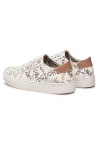 Refresh - Sneakersy REFRESH - 72887 Hielo. Okazja: na co dzień, na spacer. Kolor: biały. Materiał: skóra ekologiczna, materiał. Szerokość cholewki: normalna. Sezon: lato. Styl: casual #6