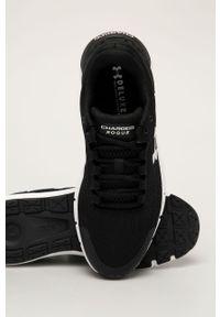 Czarne sneakersy Under Armour z cholewką, na sznurówki